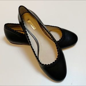 Louise et Cie Black Leather Caynlee Ballet Flat